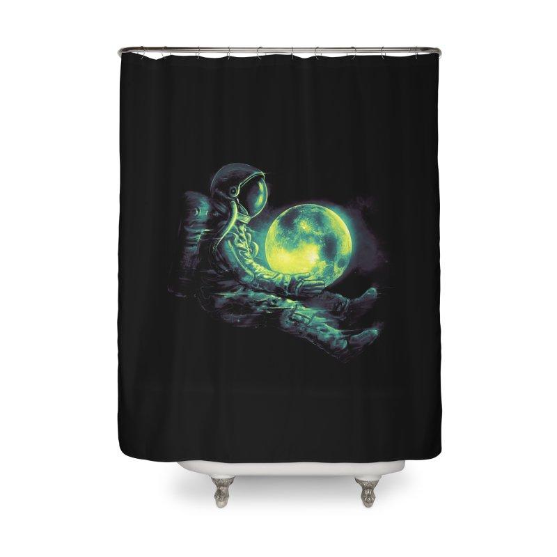 Moon Play Home Shower Curtain by nicebleed