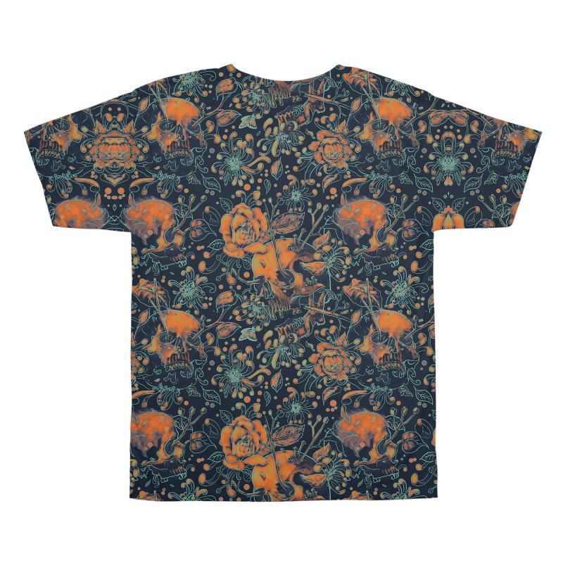 Life & Death Pattern Men's All Over Print by nicebleed