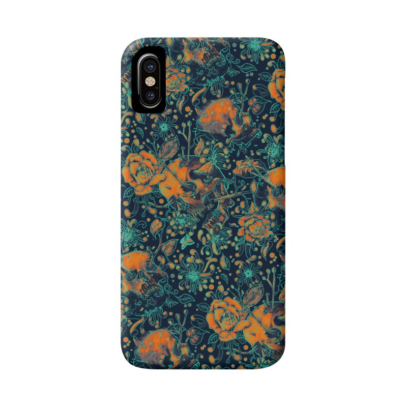 Life & Death Pattern Accessories Phone Case by nicebleed