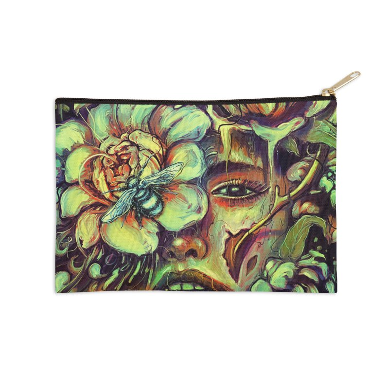 Pollinate Accessories Zip Pouch by nicebleed