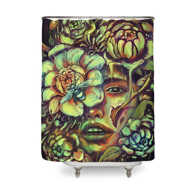 Pollinate Home Shower Curtain by nicebleed
