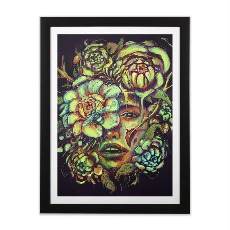 Pollinate Home Framed Fine Art Print by nicebleed