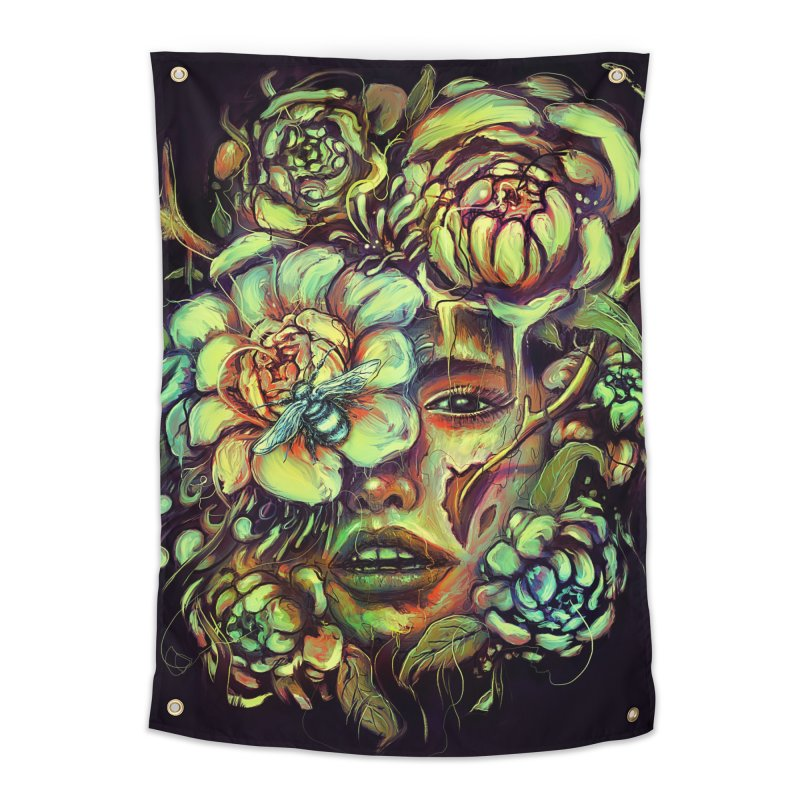 Pollinate Home Tapestry by nicebleed