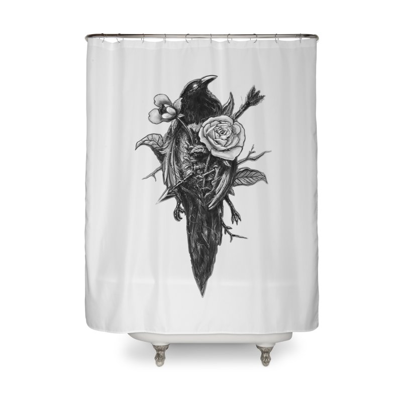 Premonition Home Shower Curtain by nicebleed