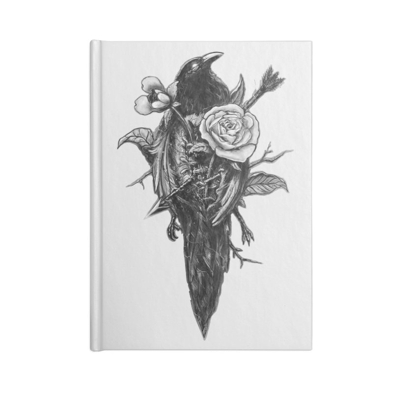 Premonition Accessories Notebook by nicebleed
