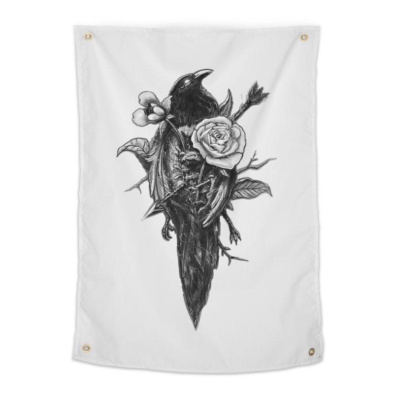 Premonition Home Tapestry by nicebleed