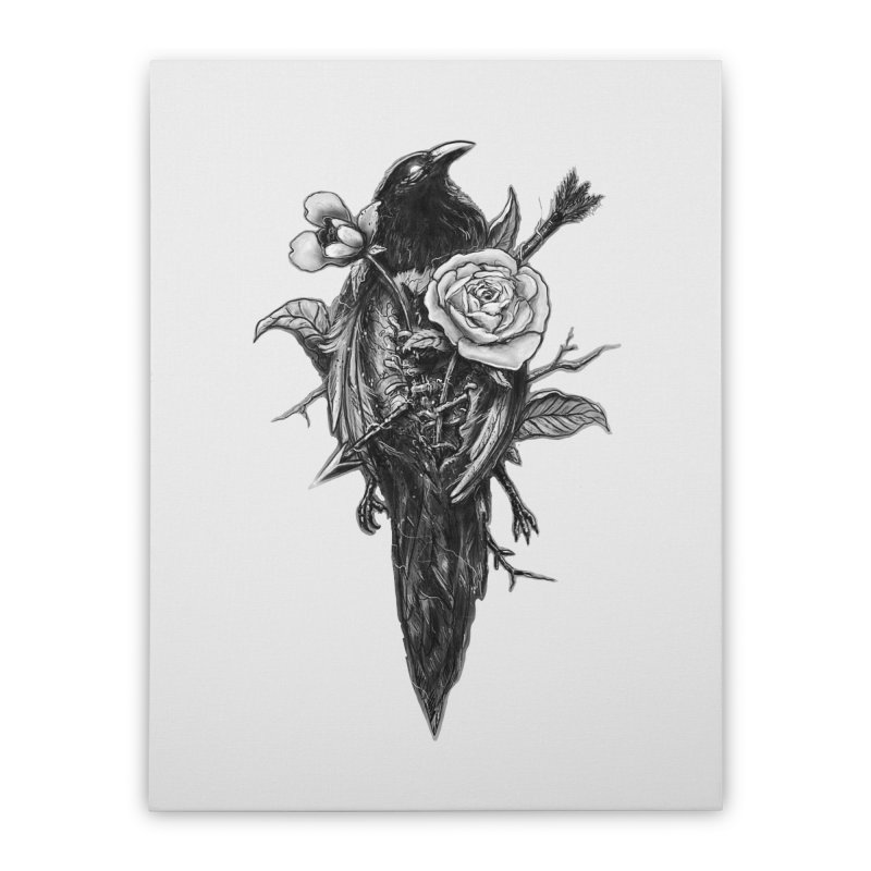 Premonition Home Stretched Canvas by nicebleed