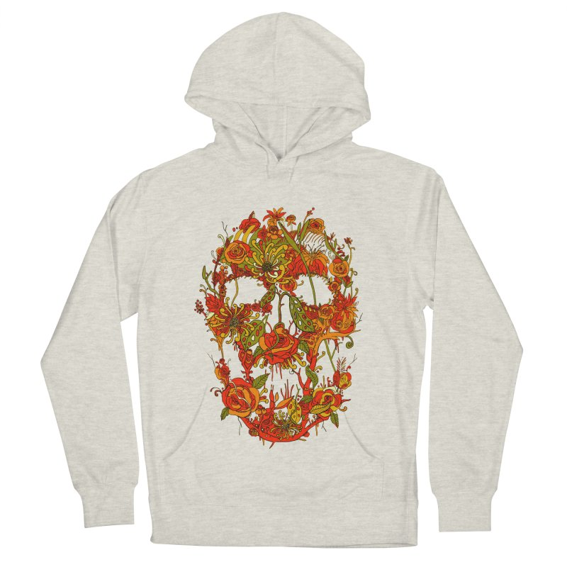 Skull Flora Women's Pullover Hoody by nicebleed