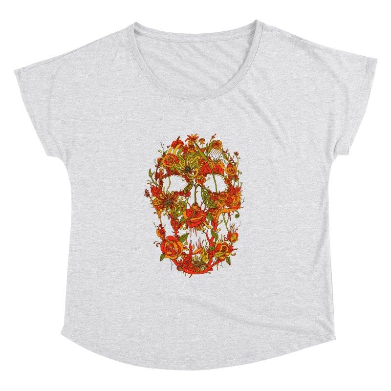 Skull Flora Women's Dolman by nicebleed