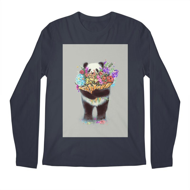 Flowers For You Men's Longsleeve T-Shirt by nicebleed