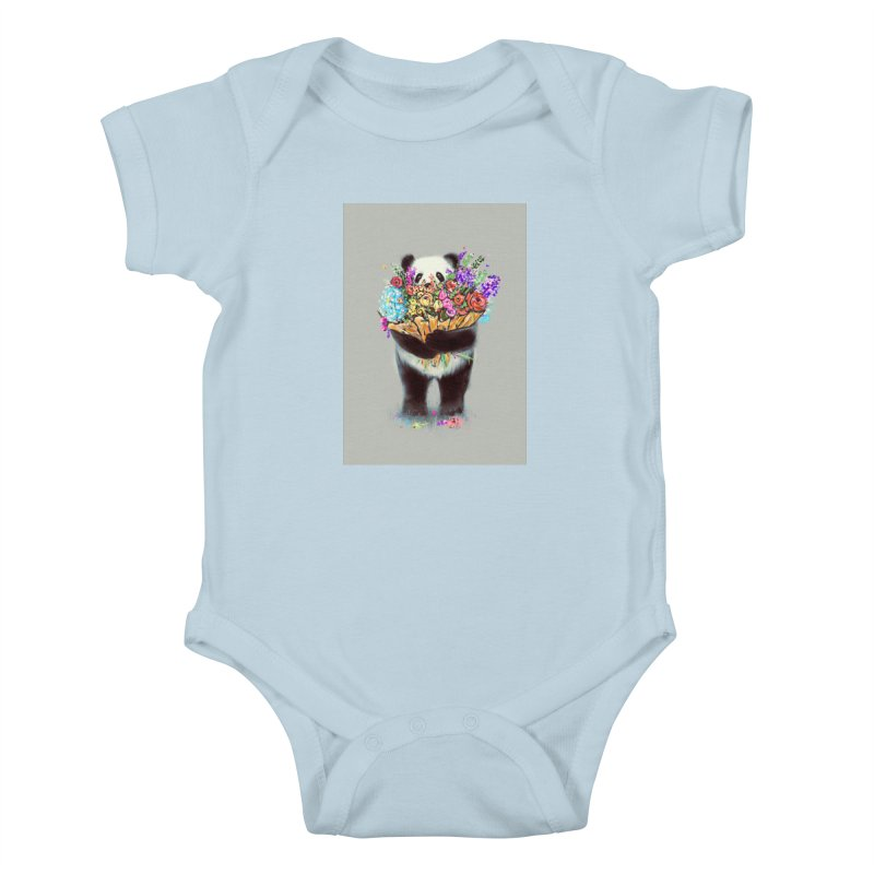 Flowers For You Kids Baby Bodysuit by nicebleed