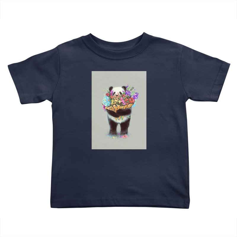 Flowers For You Kids Toddler T-Shirt by nicebleed