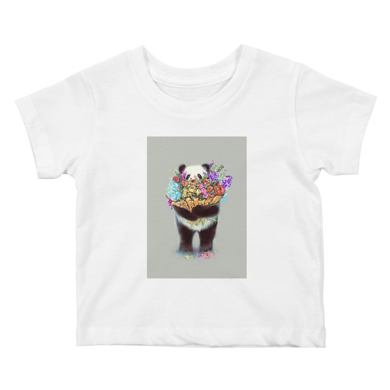 Flowers For You Kids Baby T-Shirt by nicebleed