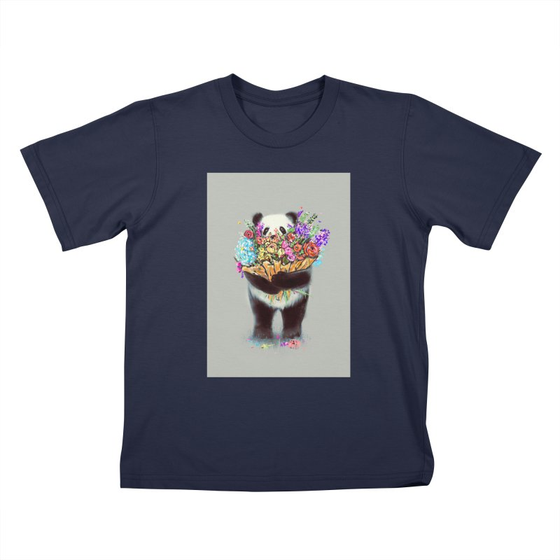 Flowers For You Kids T-Shirt by nicebleed