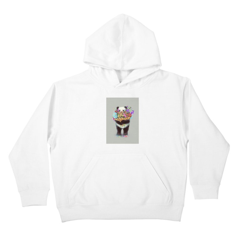 Flowers For You Kids Pullover Hoody by nicebleed