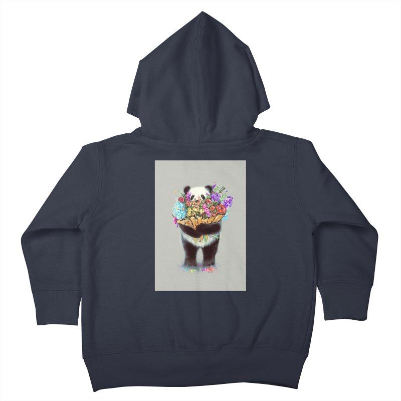 Flowers For You Kids Toddler Zip-Up Hoody by nicebleed