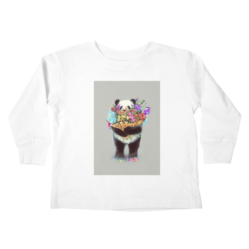 Flowers For You Kids Toddler Longsleeve T-Shirt by nicebleed