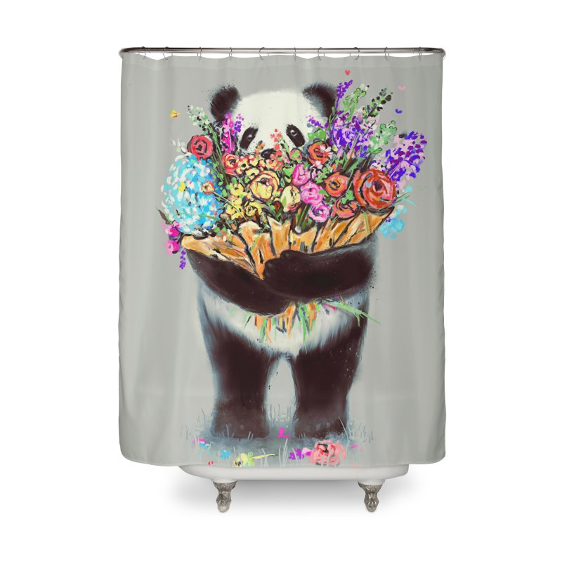 Flowers For You Home Shower Curtain by nicebleed