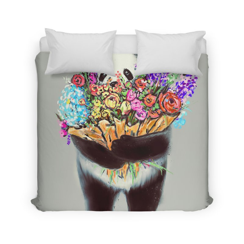 Flowers For You Home Duvet by nicebleed