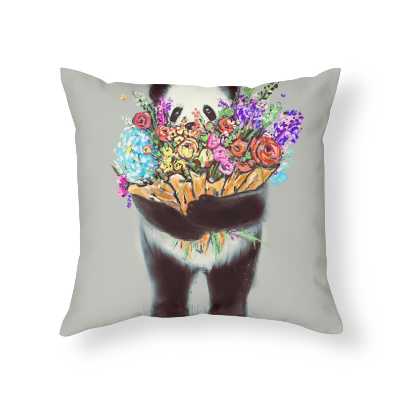 Flowers For You Home Throw Pillow by nicebleed