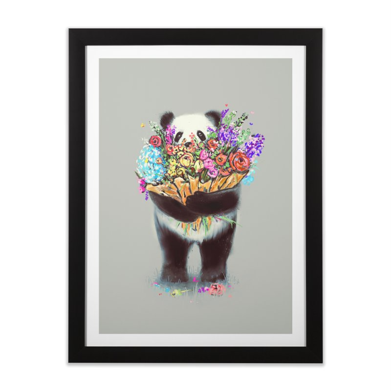 Flowers For You Home Framed Fine Art Print by nicebleed