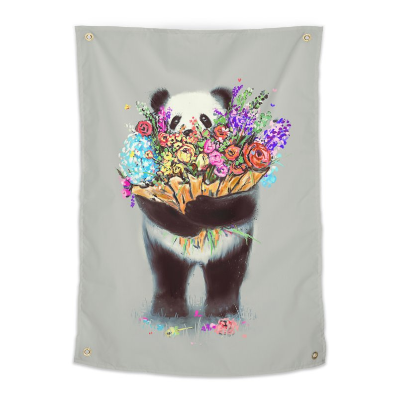 Flowers For You Home Tapestry by nicebleed