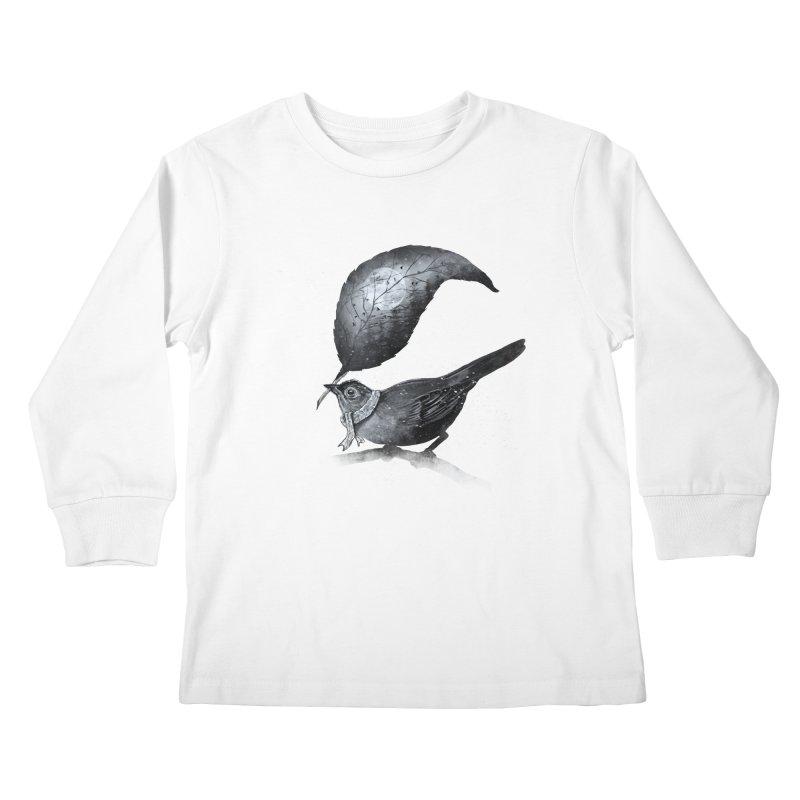 The Messenger II Kids Longsleeve T-Shirt by nicebleed