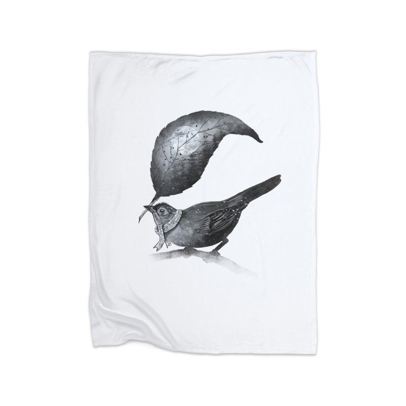 The Messenger II Home Fleece Blanket by nicebleed