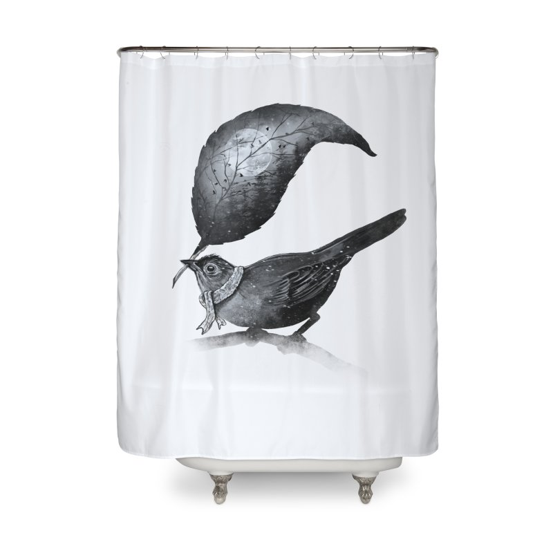 The Messenger II Home Shower Curtain by nicebleed