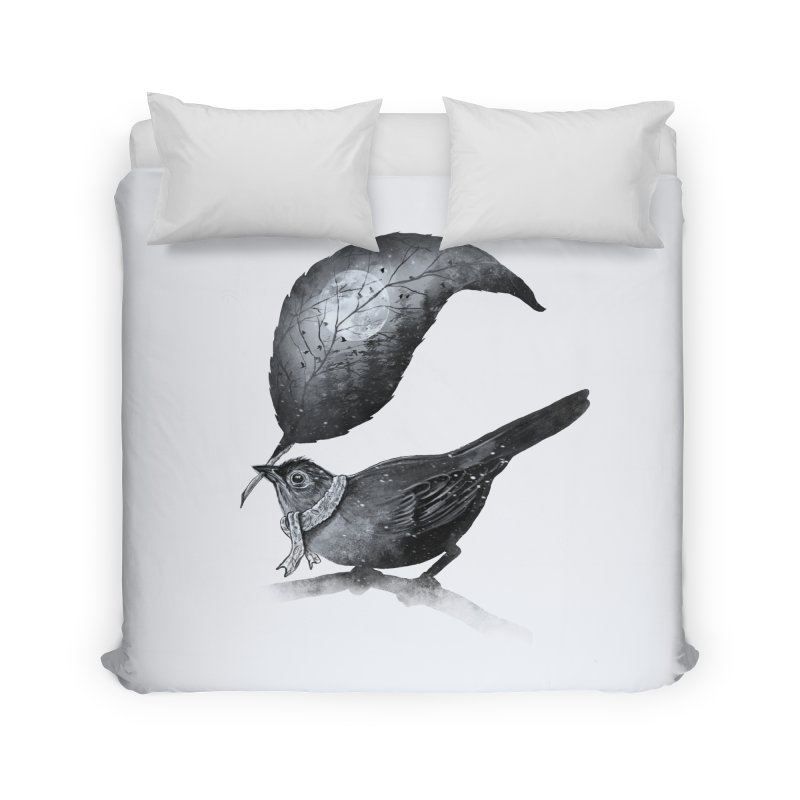 The Messenger II Home Duvet by nicebleed