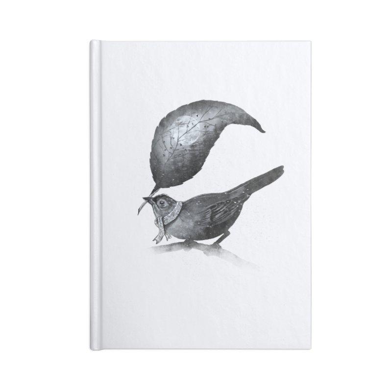 The Messenger II Accessories Notebook by nicebleed