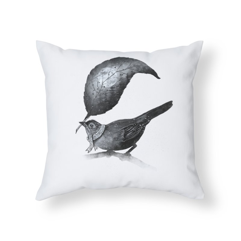 The Messenger II Home Throw Pillow by nicebleed