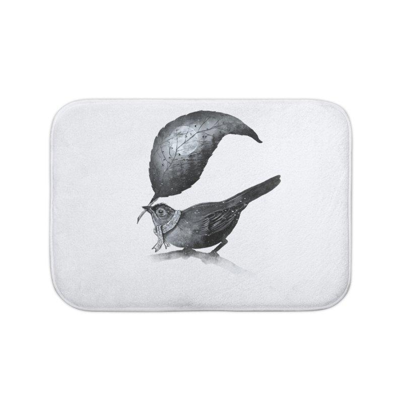 The Messenger II Home Bath Mat by nicebleed