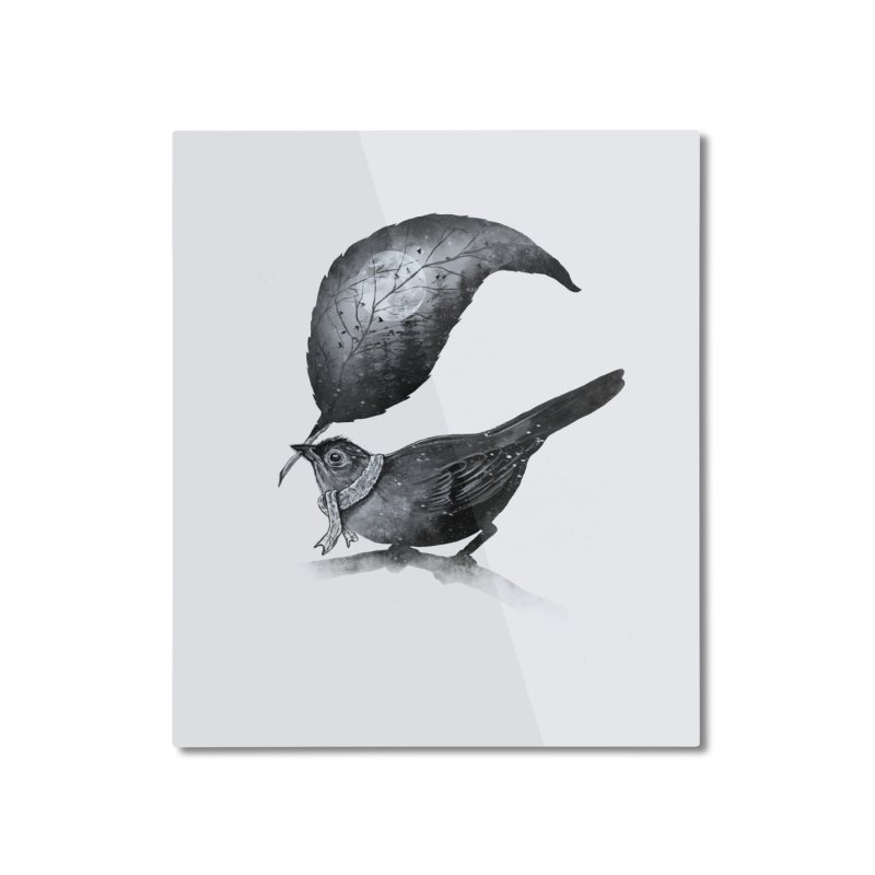 The Messenger II Home Mounted Aluminum Print by nicebleed