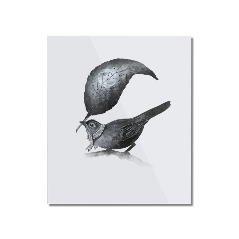 The Messenger II Home Mounted Acrylic Print by nicebleed