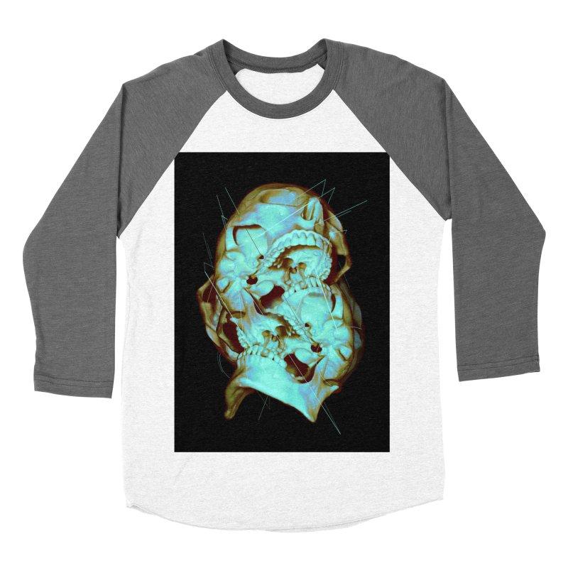 Dual Women's Baseball Triblend T-Shirt by nicebleed