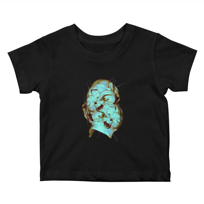 Dual Kids Baby T-Shirt by nicebleed