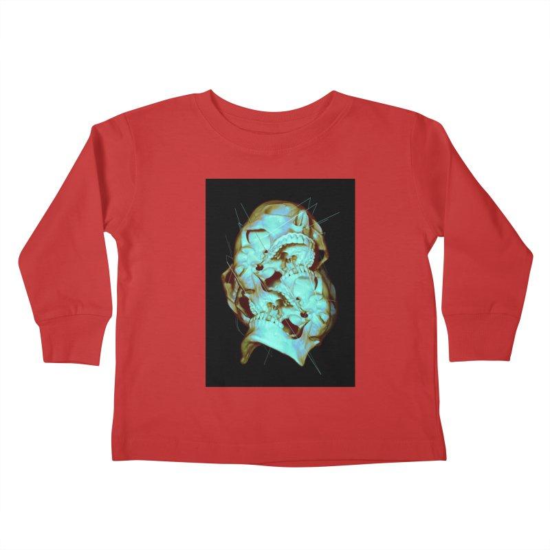Dual Kids Toddler Longsleeve T-Shirt by nicebleed