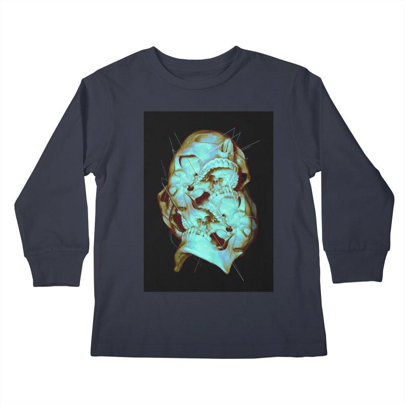 Dual Kids Longsleeve T-Shirt by nicebleed