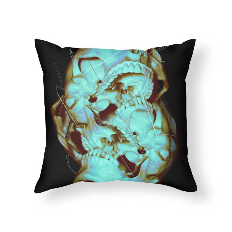 Dual Home Throw Pillow by nicebleed