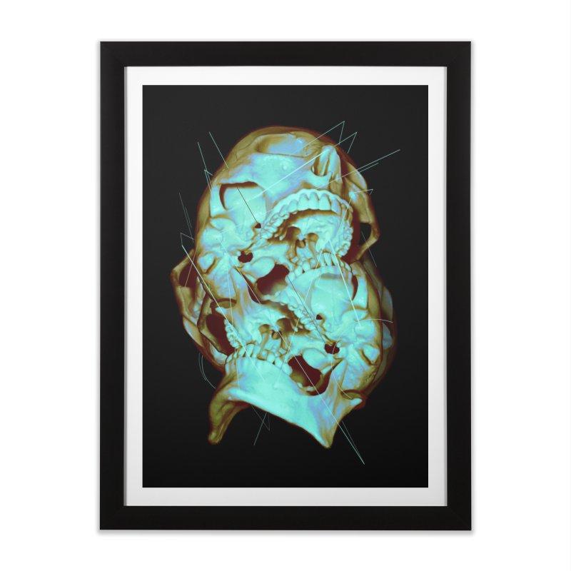 Dual Home Framed Fine Art Print by nicebleed