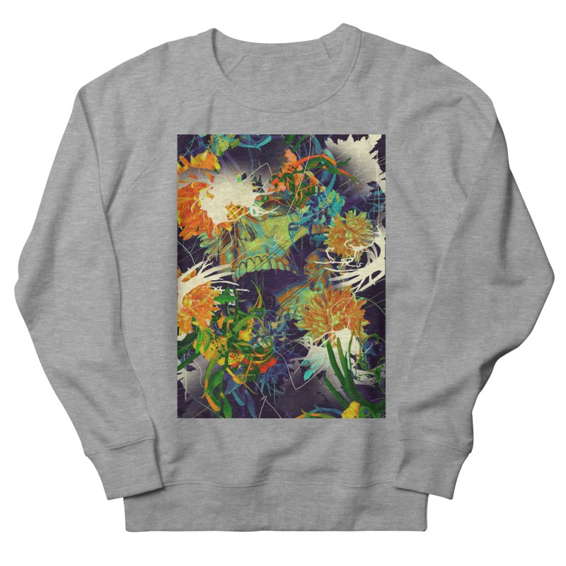 Skull Flora Women's Sweatshirt by nicebleed