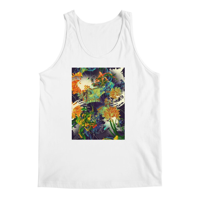 Skull Flora Men's Tank by nicebleed