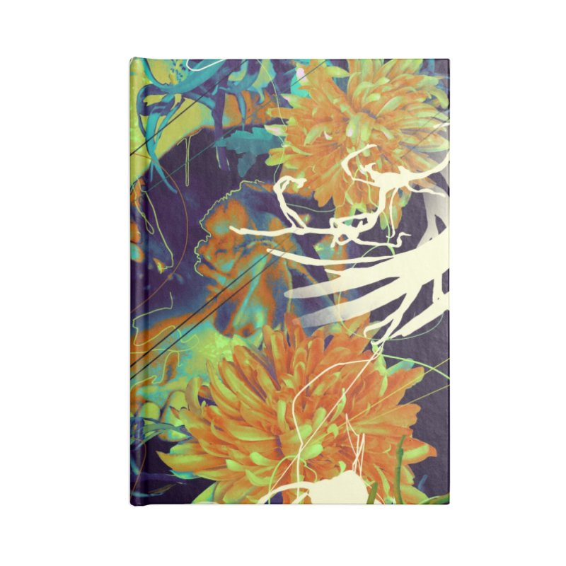 Skull Flora Accessories Notebook by nicebleed