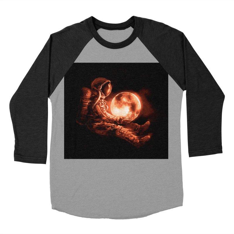Moon Play Men's Baseball Triblend T-Shirt by nicebleed