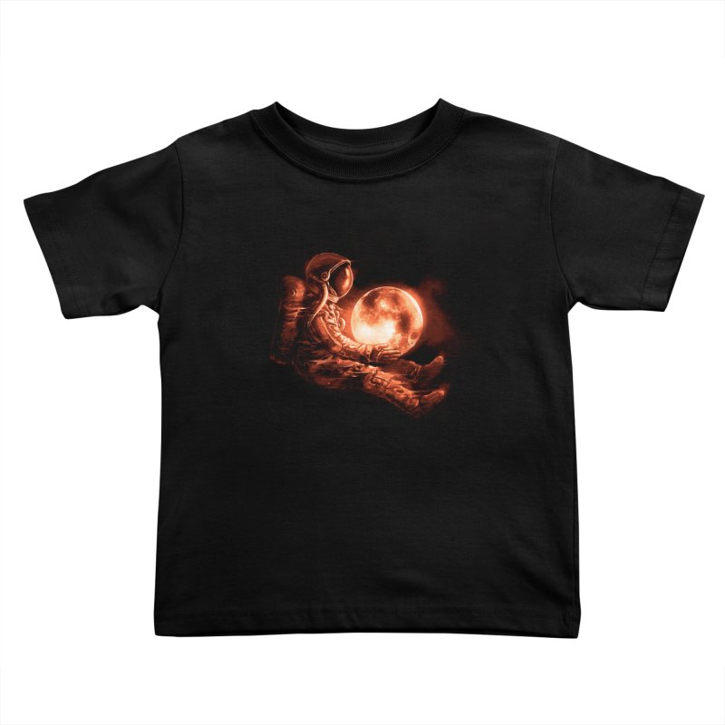 Moon Play Kids Toddler T-Shirt by nicebleed