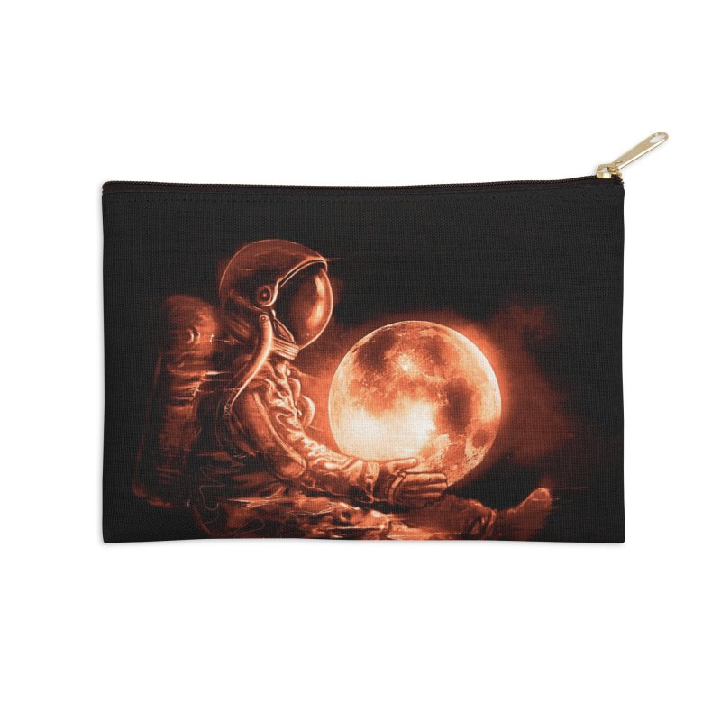 Moon Play Accessories Zip Pouch by nicebleed