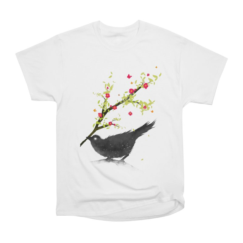Spring Is Coming Men's Heavyweight T-Shirt by nicebleed
