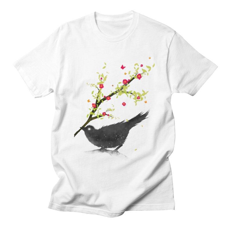 Spring Is Coming Men's T-Shirt by nicebleed