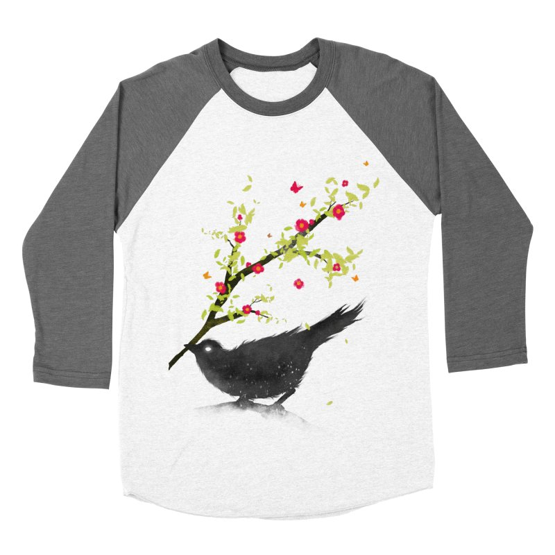 Spring Is Coming Men's Baseball Triblend T-Shirt by nicebleed